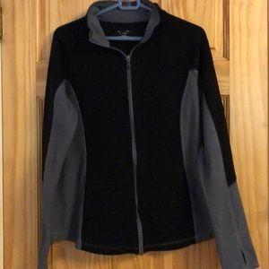 EUC Tek Gear zip up fleece jacket